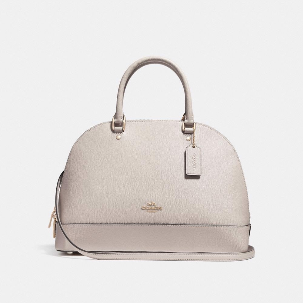 Túi COACH SIERRA SATCHEL F27590 CHALK-IMITATION GOLD