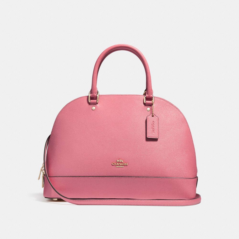 Túi COACH SIERRA SATCHEL F27590 Vintage Pink-LIGHT GOLD