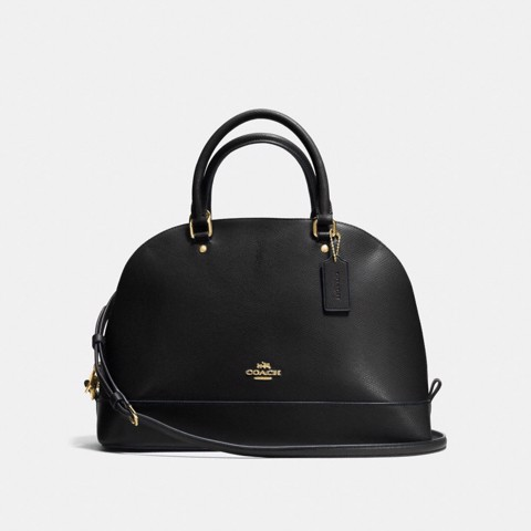 Túi COACH SIERRA SATCHEL F57524 BLACK-IMITATION GOLD