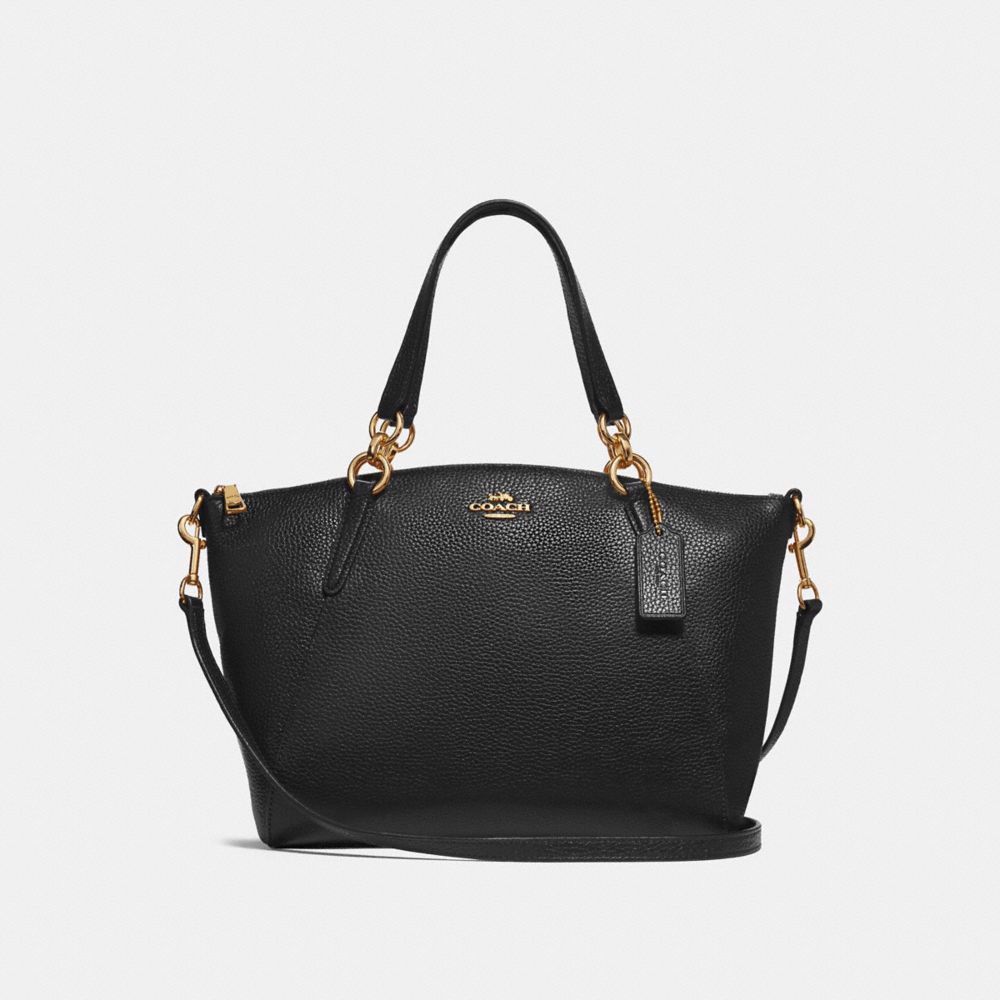 Túi COACH SMALL KELSEY SATCHEL F28993 BLACK-IMITATION GOLD