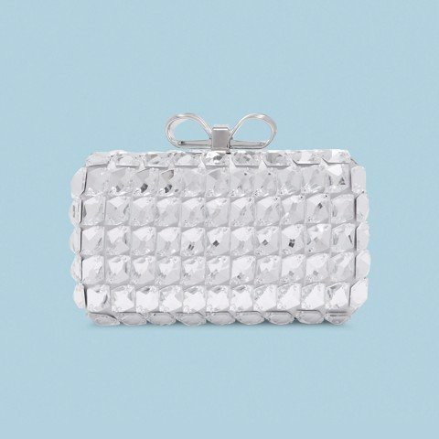 Ted Baker Crystal Embellished Frame Evening Bag