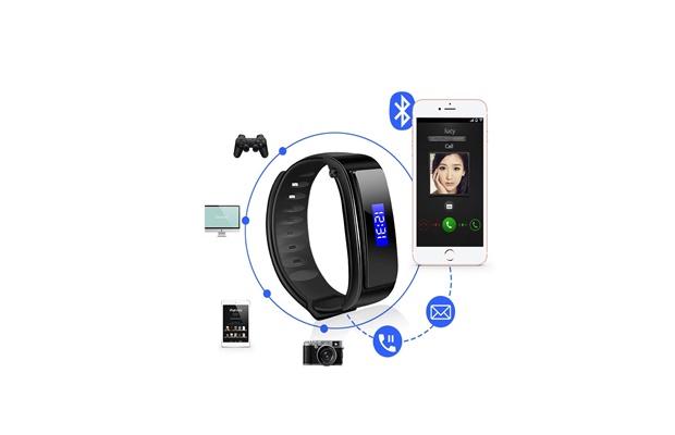 Tai nghe Bluetooth kiêm vòng tay thông minh FX-3 – muanhanhtot