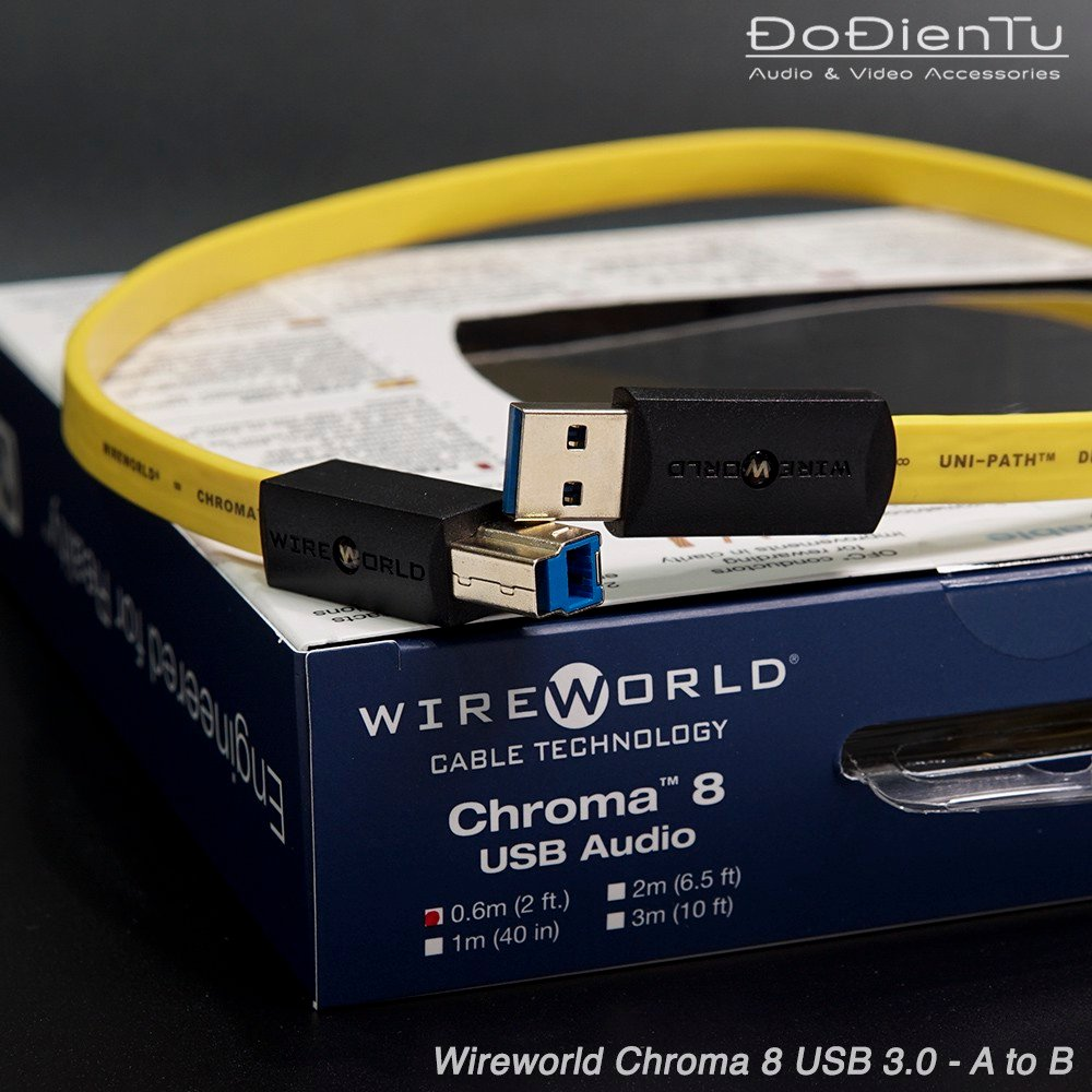 Wireworld Chroma 8 USB 3.0 A - B