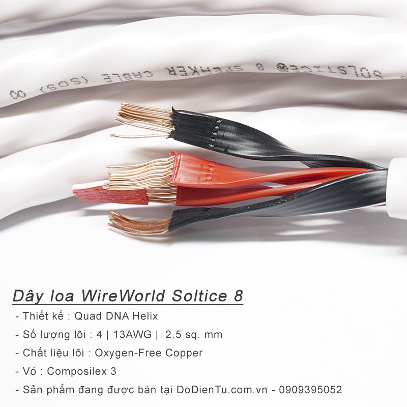 Dây loa Wireworld Soltice 8
