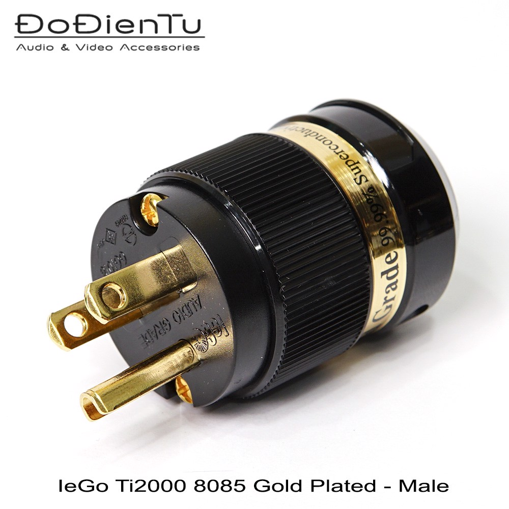 IeGo Ti2000 8085 Gold plated - Male