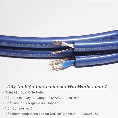 Dây tín hiệu WireWorld RCA Interconnects