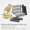 RCA Plug WireWorld Gold Tube 6.5mm
