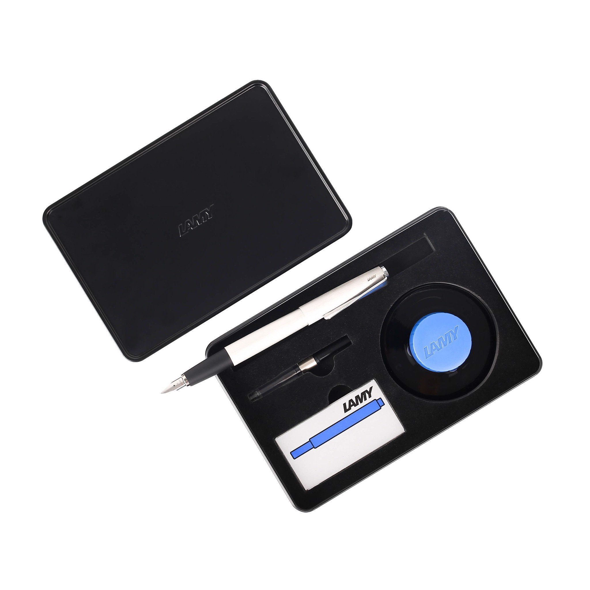 bo gift set lamy studio brushed