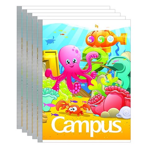 Combo 20 Quyển Tập 4 Ô Ly Campus A5 Under The Sea (96 Trang)