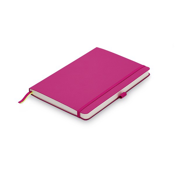 so lamy b3 notebook softcover a5 pink
