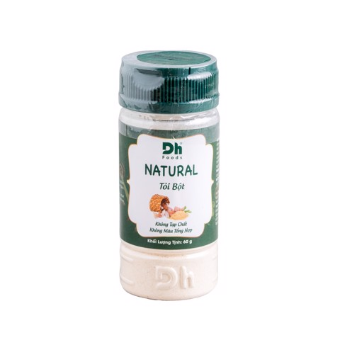 Tỏi Bột Natural | Dh Foods (60G)