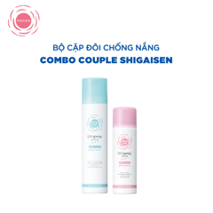 COMBO S1 (Combo Couple): Shigaisen Yohou Transparent Uv Spray +  Shigaisen Yohou Make Keep Uv Spray