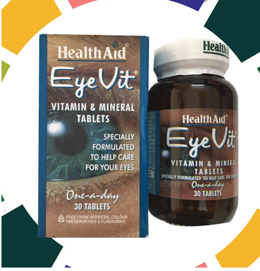 EYEVIT VITAMIN & MINERAL TABLETS