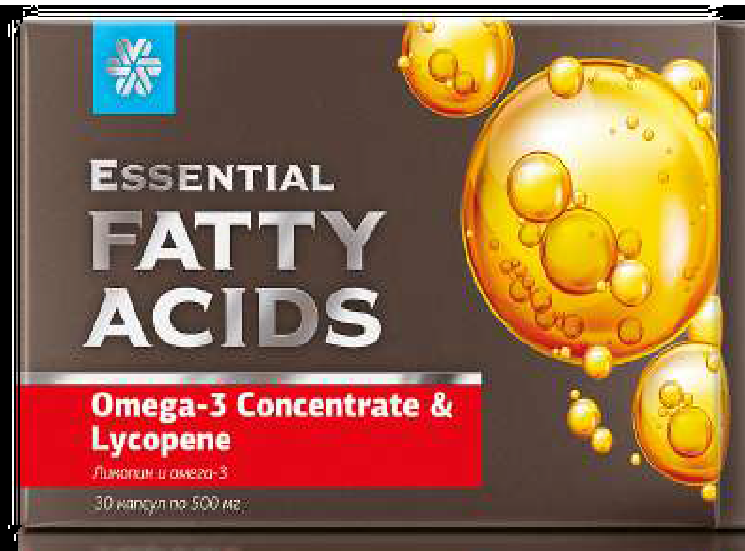 Essential Fatty Acids Omega-3 Concentrate & Lycopene