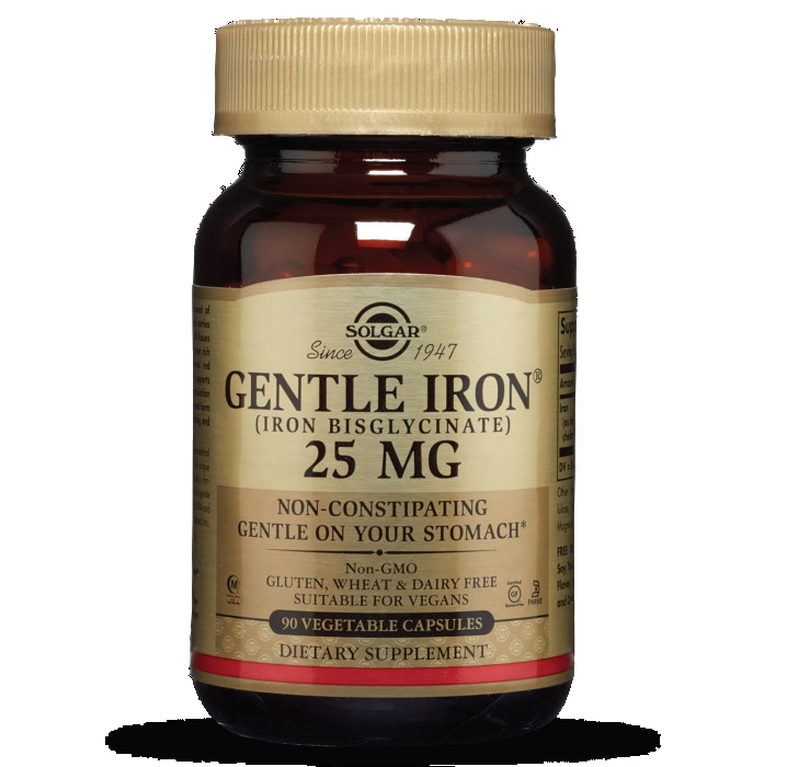Gentle Iron (Iron Bisglycinate) 25 MG