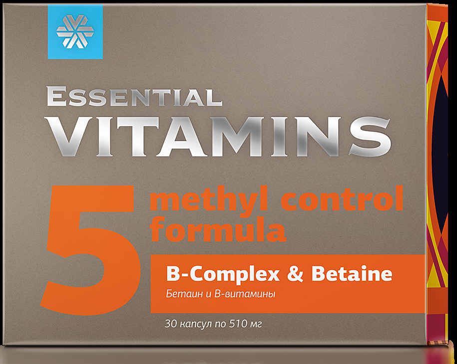 Essential Vitamins B-complex & Betaine