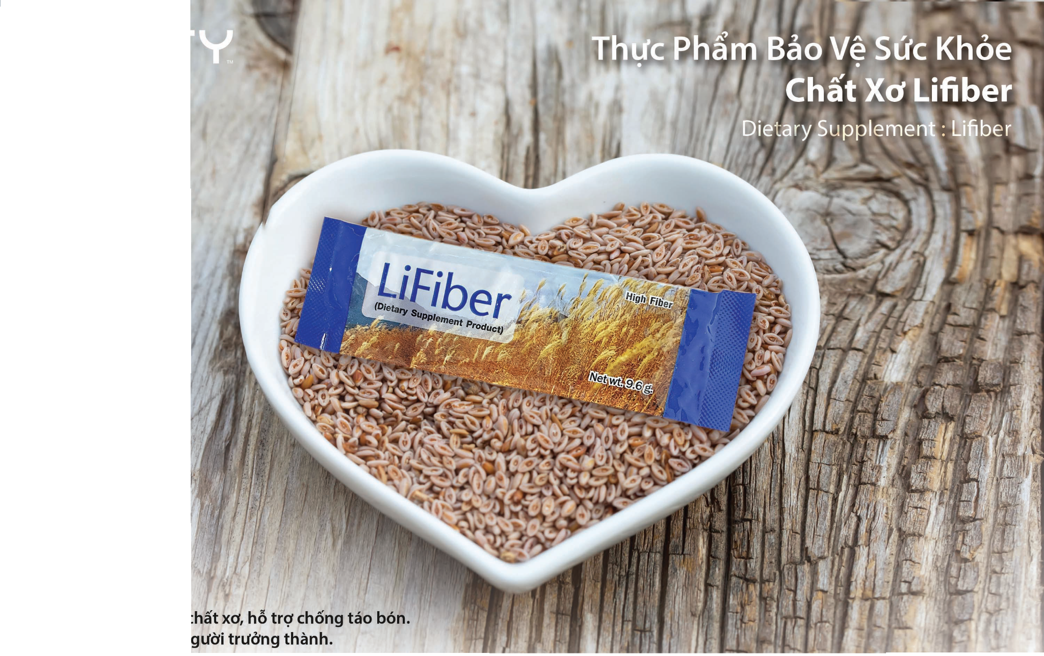 Chất Xơ LiFiber (Dietary Supplement: LiFiber)