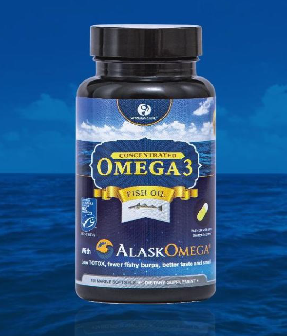 VITA SIGNATURE ALASKOMEGA®3 FISH OIL