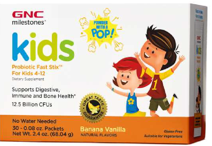 KID PROBIOTIC FAST STIX FOR KIDS 4-12