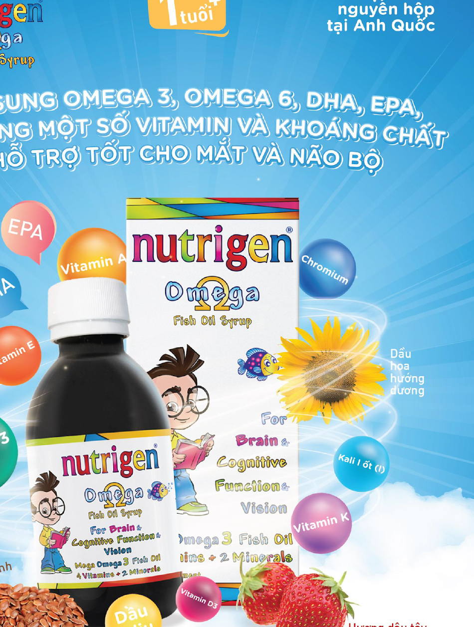 Nutrigen Omega Fish Oil Syrup