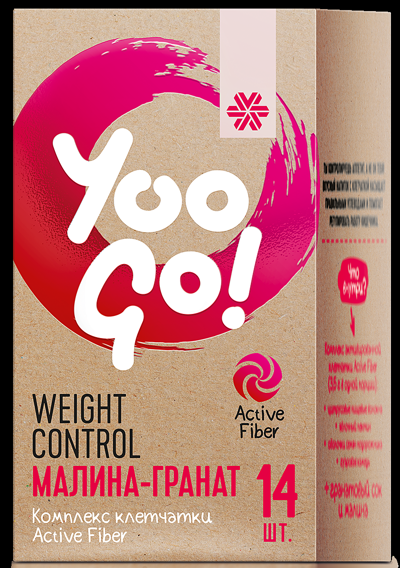 Yoo Go Weight control Drink mix Raspberry&Pomegranate