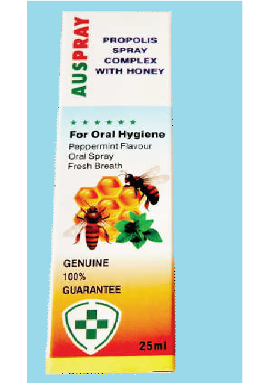 Auspray Propolis Spray Complex With Honey