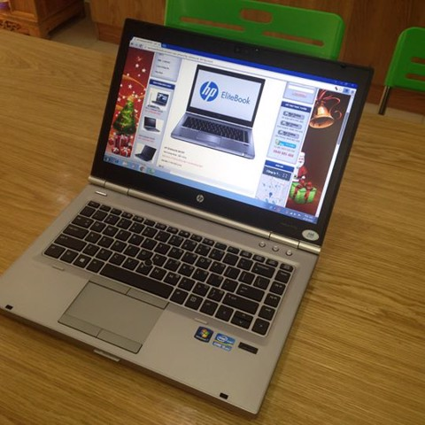 LAPTOP HP ELITEBOOK 8470P      Core i5 - 3320M // Ram 4GB // Hdd 250 GB // 14.0 inch // DVD // Pin good // Sạc zin.