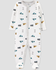 Sleepsuit cotton thermal cài nút icon
