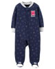 Sleepsuit cotton khoá kéo 115G573 Carter's