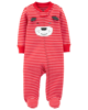Sleepsuit cotton khoá kéo 115G571 Carter's