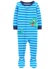 Sleepsuit cotton phôm ôm xanh Chameleon icon