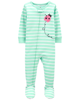 Sleepsuit cotton phôm ôm Ladybug 1K459613 Carter's