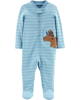 Sleepsuit cotton organic cài nút 18243710 Carter's