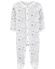 Sleepsuit cotton cài nút 17580010 Carter's
