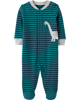 Sleepsuit cotton cài nút 19600610 Carter's