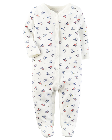 Sleepsuit cotton thermal cài nút
