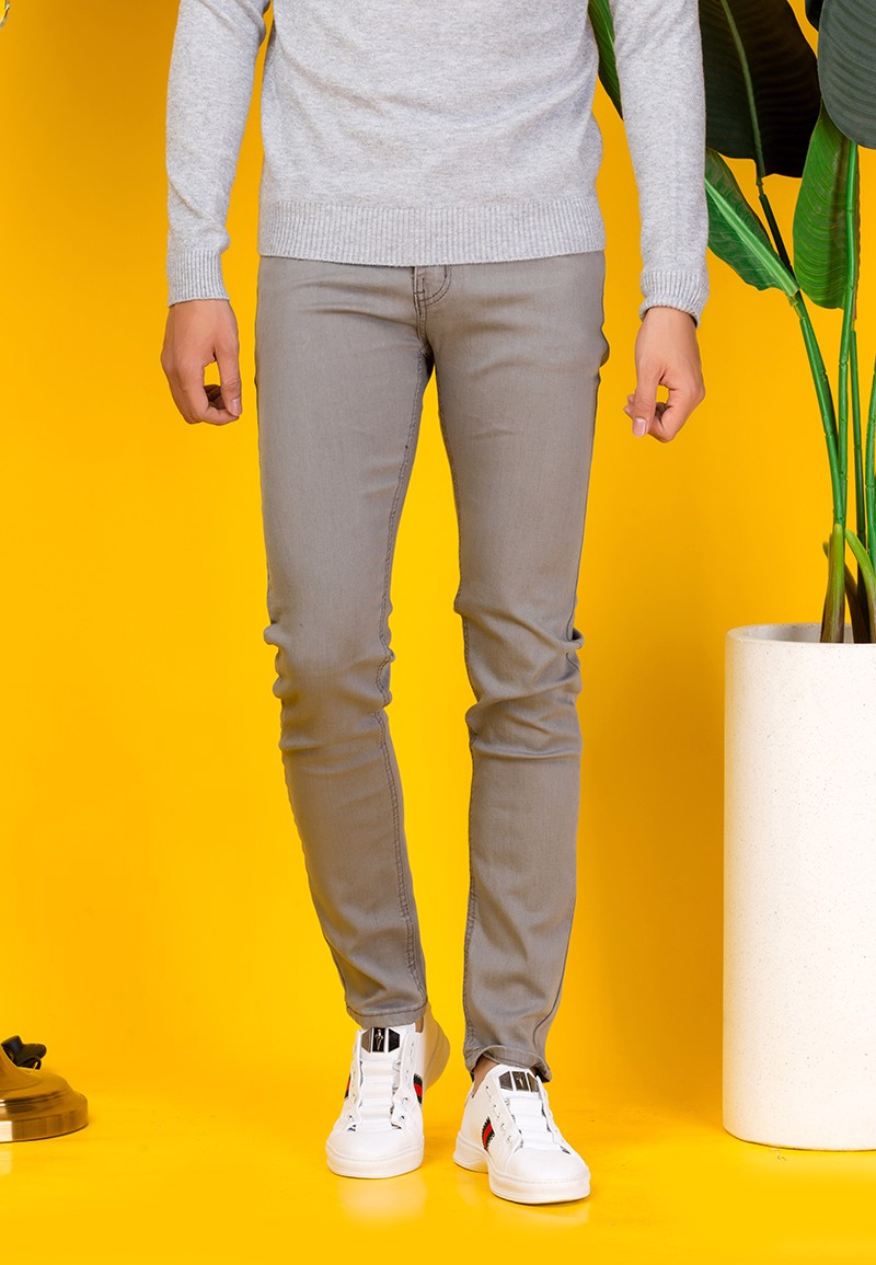 Quần jeans Nam Titishop QJ289 Wax Co giãn
