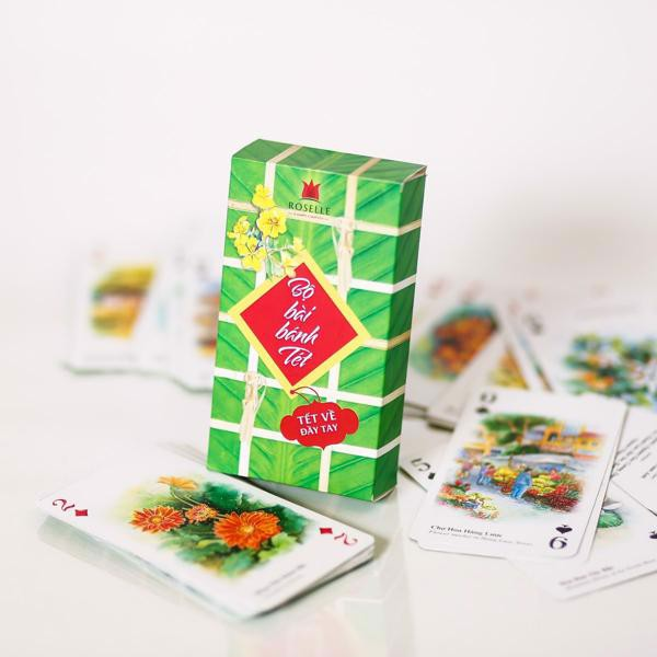 Banh Tet deck of cards