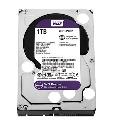 Ổ cứng HDD Western Digital Purple 1TB 3.5