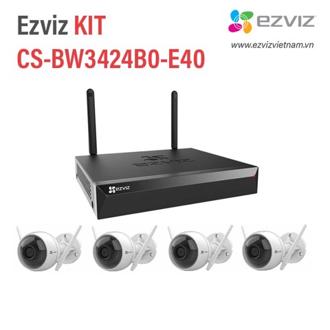 Bộ Kit Wifi Ezviz CS-BW3424B0-E40