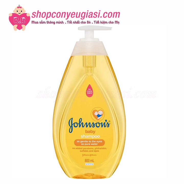 Dầu Gội Johnson's Baby 800ml