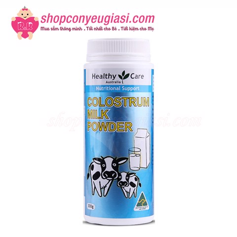 Sữa Non Healthy Care Colostrum Milk Powder 300g - Úc
