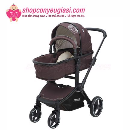 Xe Đẩy Zaracos ZIPPY 8186 – DARK BROWN