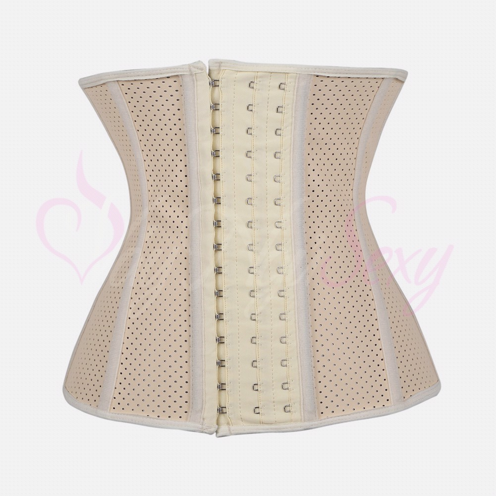 CORSET LATEX 4D CR103 NUDE