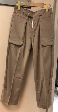 Brown Pocket Pants