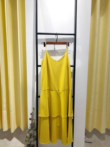 Lemon Layer Dress