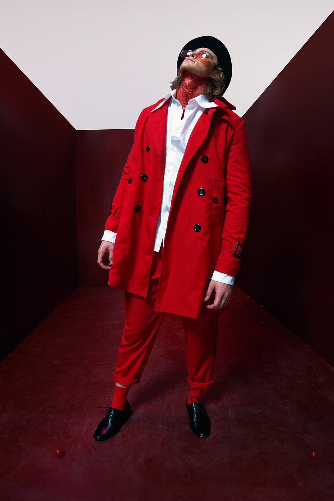 Red Trendcoat
