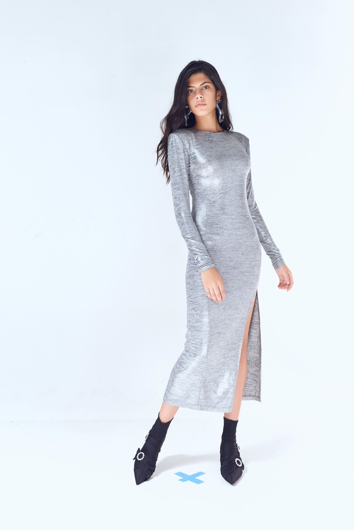 Sparkling Bodycon Long Dress