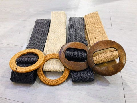 Wood Buckle Belt