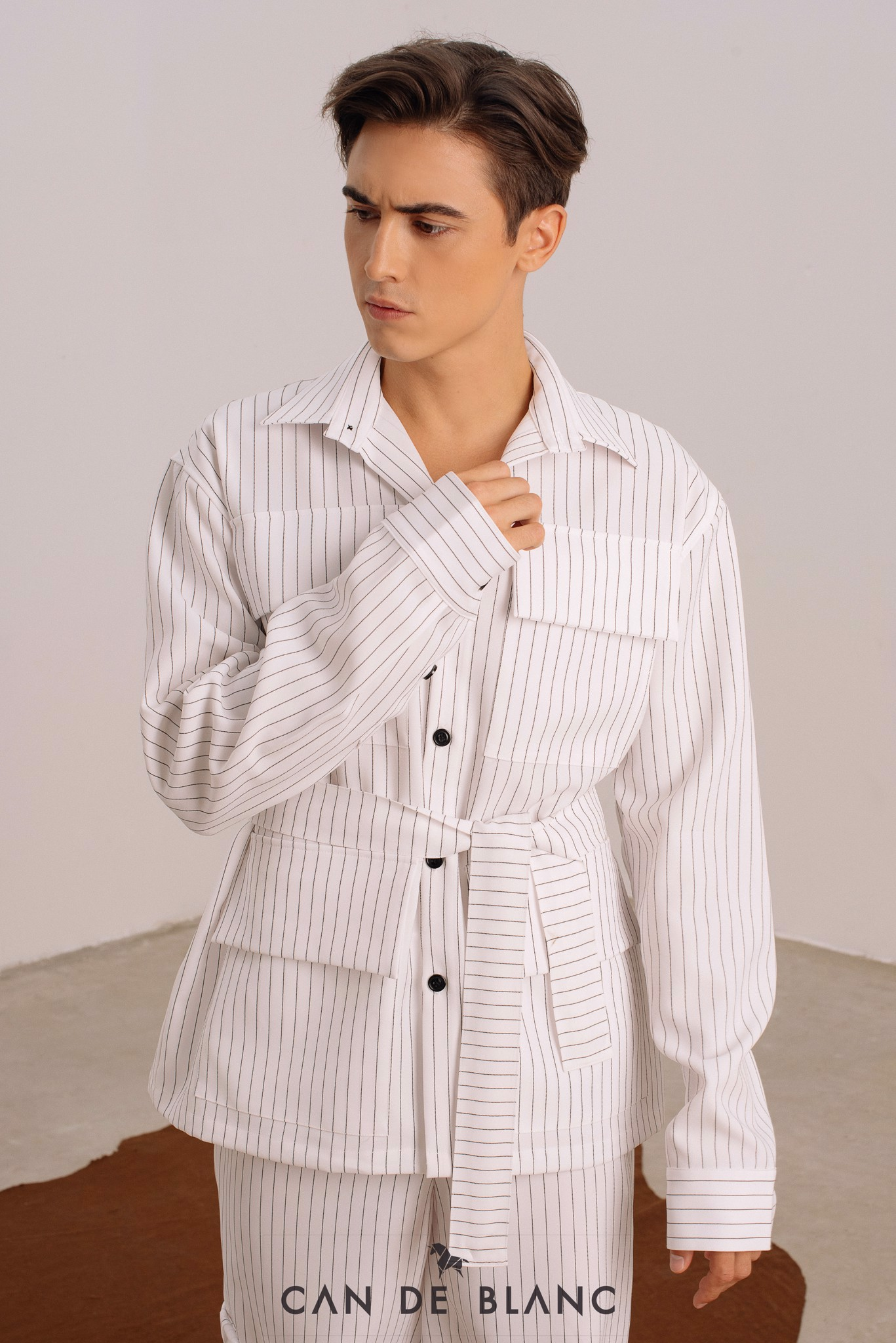 Pocket Striped Shirt